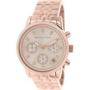 Reloj Michael Kors Para Mujer Mk-tono Oro Rosa