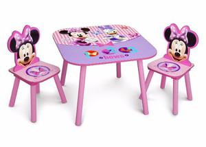 Delta Minnie Mouse Table & Chair Escritorio Mesa Niños