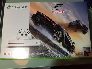 Xbox one s con sello de seguridad. Nuevo. Incluye forza