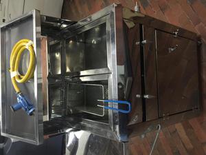 Carro de bu uelos fritanga y empanadas posot class for Freidoras bogota