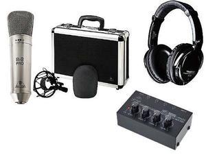 Microfono Kit Behringer B2 Pro Audifonos Y Pre Ha400