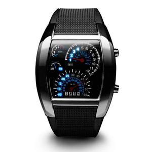 6 Unidades De Reloj Led Hombre Digital Tacometro Rpm Unisex