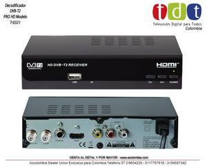 Decodificador TDT DVBT2
