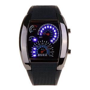 Racing Watch Reloj Led Estilo Velocimetro