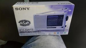 Radio Multibanda Sony Icfsw11 Nuevo