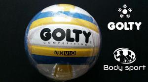BALON VOLEIBOL GOLTY COMPETITION NXV10 N°5 SEMIPROFESIONAL