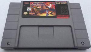 Capitan Commando Snes Super Nintendo Consolas Generico