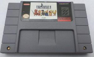 Final Fantasy Iv Snes Super Nintendo Consola Generico Aaa