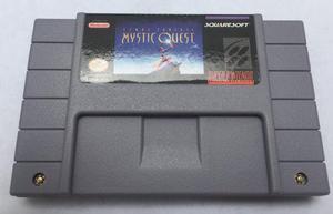 Final Fantasy Mystic Quest Snes Super Nintendo Generico Aaa