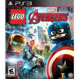 Lego Marvel Avengers Ps3 Playstation 3 Nuevo Sellado Fisico