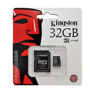 Memoria Micro Sd 32gb Kingston Celulares
