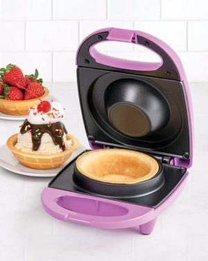 Nostalgia Wfl400 Maquina Para Hacer Waffles Waflera Niños