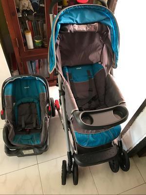 Se Vende Coche Y Silla de Carro para Beb