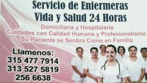 Servicio de Enfermeria Domiciliaria - Bogotá
