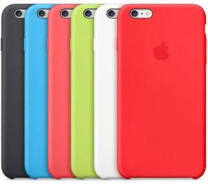 Silicon Case en Todos Los Colores para iPhone 6, 6 Plus Y 7,