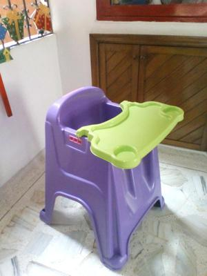 Silla shia rimax sin brazos mocca posot class for Comedor para bebe