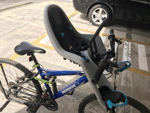 Silla para bebé bicicleta marca Thule como nueva