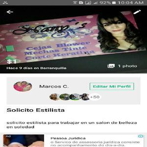 Solicito Estilista - Barranquilla