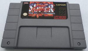 Super Street Fighter 2 Snes Super Nintendo Consola Generico