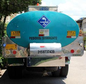 Transporte y Venta de Agua Bucaramanga 3208062472