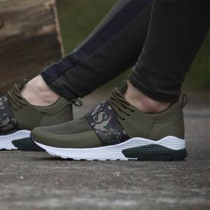 Zapatos Army Verdes Deportivos Originales Maxi®