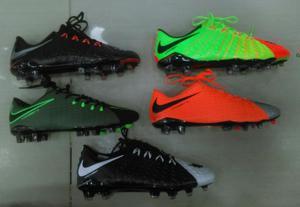 Zapatos Guayos Nike Hypervenom 5 Colores