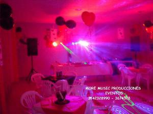Alquiler De Luces Y Sonido Carnavalito Hora Loca 15 Años -