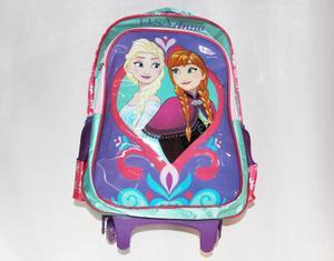 Kit Morral + Lonchera Maleta Ninas Disney Frozen Elsa Y Anna