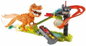 Pista Hot Wheels Duelo De T-rex Original Envio Gratis