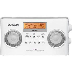 Sangean Pr-d5 Radio Portátil Con Ajuste