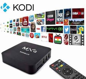 Smart Android Tv Box Lleve Las Aplicaciones De Internet A Tv