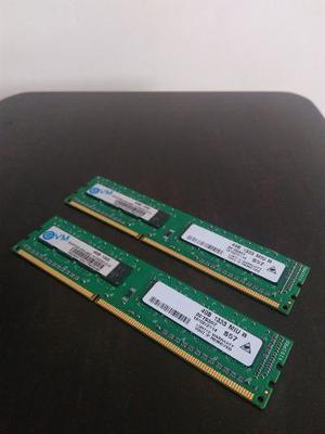 2 Memorias Ram Ddr3 4gb Para Pc De Escritorio