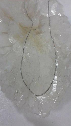 Cadena En Oro Blanco 18k Ref: