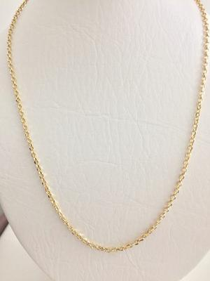 Cadena Mujer Eslabon Oro 18 Kilates