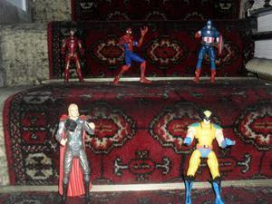 KIT Capitan america, hulk, iron man, thor, vengadores