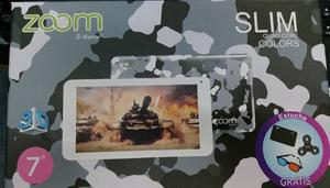 Tablet 3d 7 Pulgadas Slim Zoom Gratis Gafas+spinner+silicona
