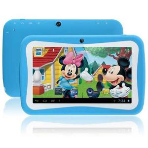 Tablet Kids Para Niños Bluetooth Camara 8gb Ingles