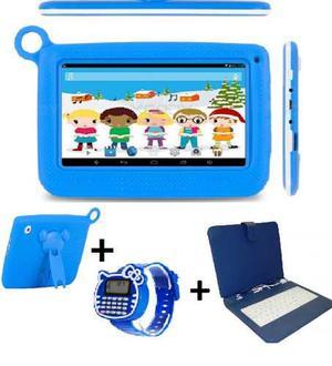 Tablet Niños 4 Núcleos Wifi Bluetooth Android.