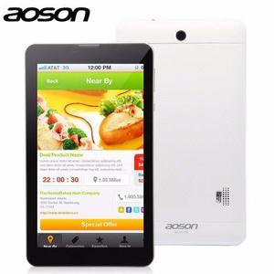 Tablet Pc Aoson 7 Pulgadas Dual Sim Card 3g Gps Otg