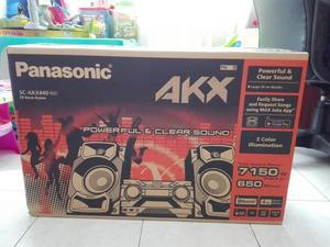 Vendo Minicomponente Panasonic Akx440