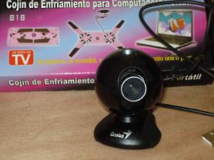 videocamara usb para videoconferencias ventilador usb y
