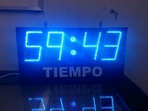 Cronometro Marcador Tablero Deportivo Led Futbol 5