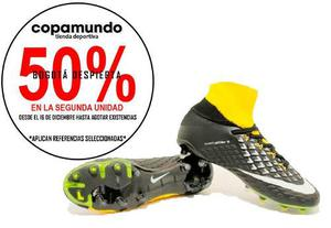 Guayos Grama Bota Nike Hypervenom Magista Futbol + Obsq + E