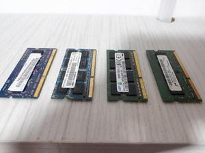 Memorias RAM DDR3 de 2 y 4gb para portatil. - Manizales