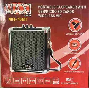 Parlante Bluetooth Maxi House Mh-70bt