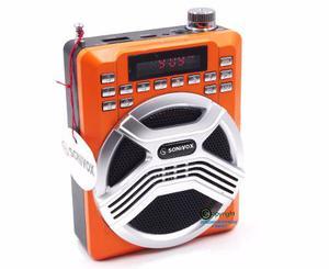 Parlante Bluetooth Perifoneo Microfono Diadema Usb Karaoke