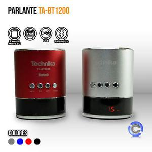 Parlante Technika Ta-bt Mp3 Bluetooth Radio Fm