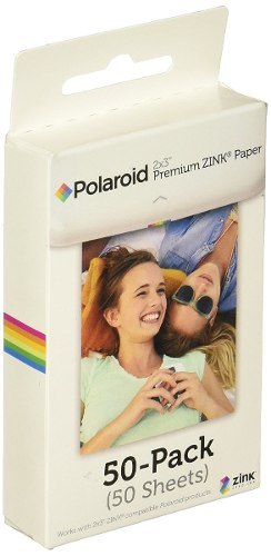 Polaroid Papel Fotografico X 50 Compatible Con 2x3¨ Zink