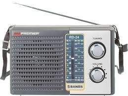 Radio Portatil Premier Rd24 5 Bandas