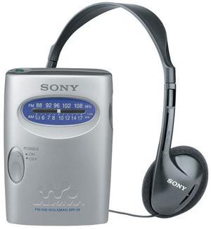 Radio Sony Srf59 Silver Am / Fm Walkman Nuevo Sellado